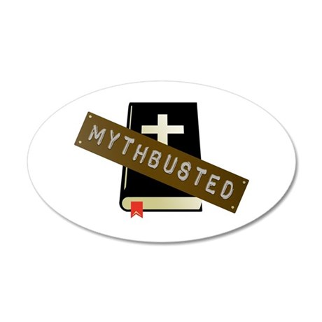 Mythbusted 20x12 Oval Wall Decal