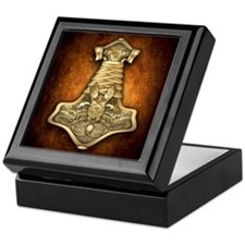Mjolnir - Thors Hammer Keepsake Box
