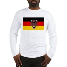 German Soccer Flag Long Sleeve T-Shirt