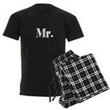 Mr and mrs pajamas Men's Pajamas Dark