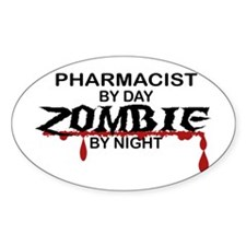 Pharmacist Zombie Decal