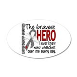 Bravest Hero I Knew J Diabetes Wall Decal