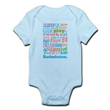 Badminton Gift Infant Bodysuit