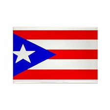Puerto Rico Blank Flag Rectangle Magnet (100 pack)