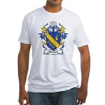 Garioch Coat of Arms Fitted T-Shirt