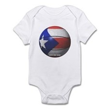 Puerto Rican Basketball Infant Bodysuit