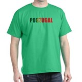 Portugal Black T-Shirt