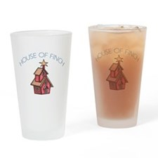 House of Finch Drinking Glass