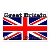 Great Britain British Flag Postcards (Package of 8