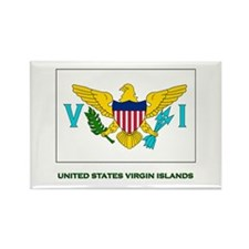 The United States Virgin Islands Flag Stuff Rectan