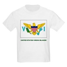 The United States Virgin Islands Flag Stuff Kids T