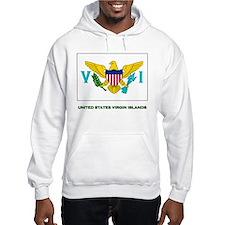 The United States Virgin Islands Flag Stuff Hoodie