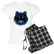 Blue Wolf Pajamas
