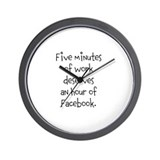 Five minutes of work deserves an hour of Facebook.