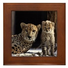 Mom & Baby Framed Tile