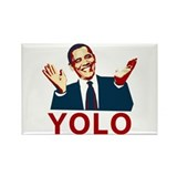 Obama YOLO Rectangle Magnet