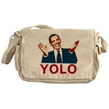 Obama YOLO Messenger Bag