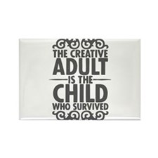 The Creative Adult is the Child Who Survived -GRAY