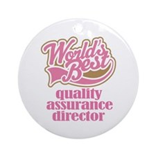 Quality Assurance Director (Worlds Best) Ornament