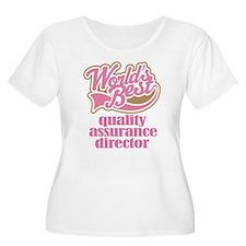 Quality Assurance Director (Worlds Best) T-Shirt