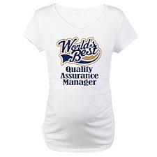 Quality Assurance Manager (Worlds Best) Shirt