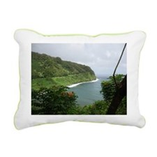 Hana Highway Rectangular Canvas Pillow