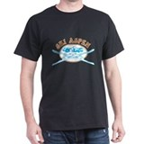 Aspen Crossed-Skis Badge T-Shirt