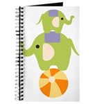 Elephants on a Ball Journal