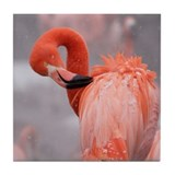 Flamingo Tile Coaster