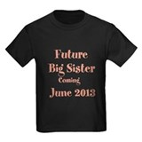 Personalized Big Sister Tee-Shirt