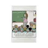 Cute Teacher Rectangle Magnet