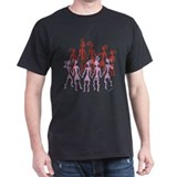 Ancient Bowlie Dancers Black T-Shirt