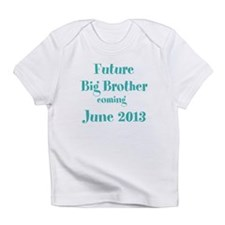 Personalized Future Big Brother Infant T-Shirt