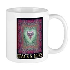 PEACE LOVE MANDALA Mug