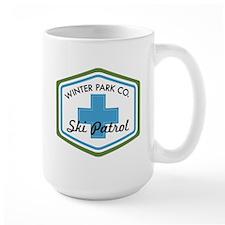 Winter Park Ski Patrol Patch Mug