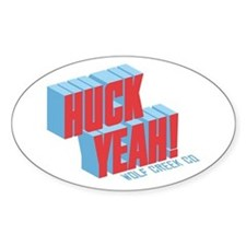 Huck Yeah Wolf Creek! Decal