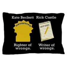 Castle - Righter Writer of Wrongs Pillow Case
