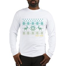 Wolf Creek Blue Winter Sweater Long Sleeve T-Shirt