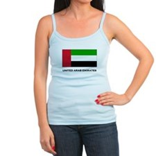 The United Arab Emirates Flag Stuff Jr.Spaghetti Strap
