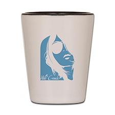 Wolf Creek Lady Silhouette Shot Glass