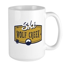 Ski Wolf Creek Patch Mug