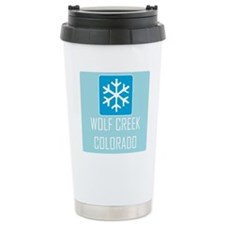 Wolf Creek Snowflake Ceramic Travel Mug