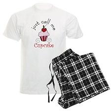 Just Call Me Cupcake pajamas