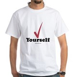 Check yourself - White T-shirt