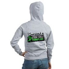 I Survived a Stem Cell Transplant Women's Zip Hood