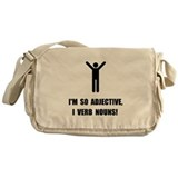 Adjective Verb Nouns Messenger Bag