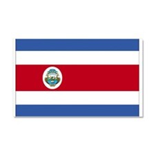 Flag of Costa Rica Car Magnet 20 x 12
