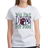 Will Play Drums Tee