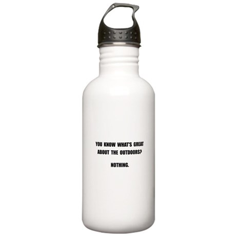 Outdoors Nothing Stainless Water Bottle 1.0L