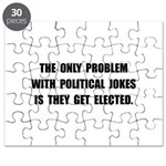 Political Jokes Elected Puzzle